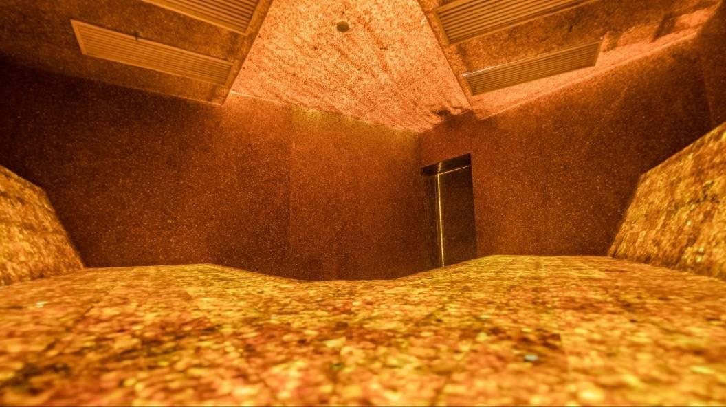 In Litauen gibt es die weltweit erste Sauna mit natürlichem Bernstein