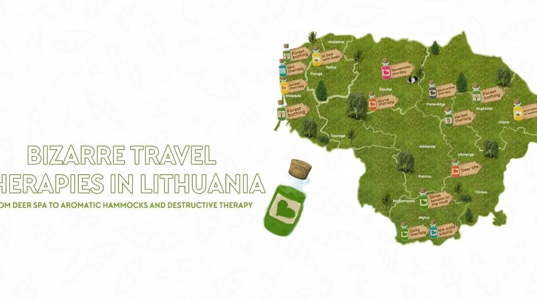 BIZARRE TRAVEL THERAPIES IN LITHUANIA FROM DEER SPA TO AROMATIC HAMMOCKS AND DESTRUCTIVE THERAPY