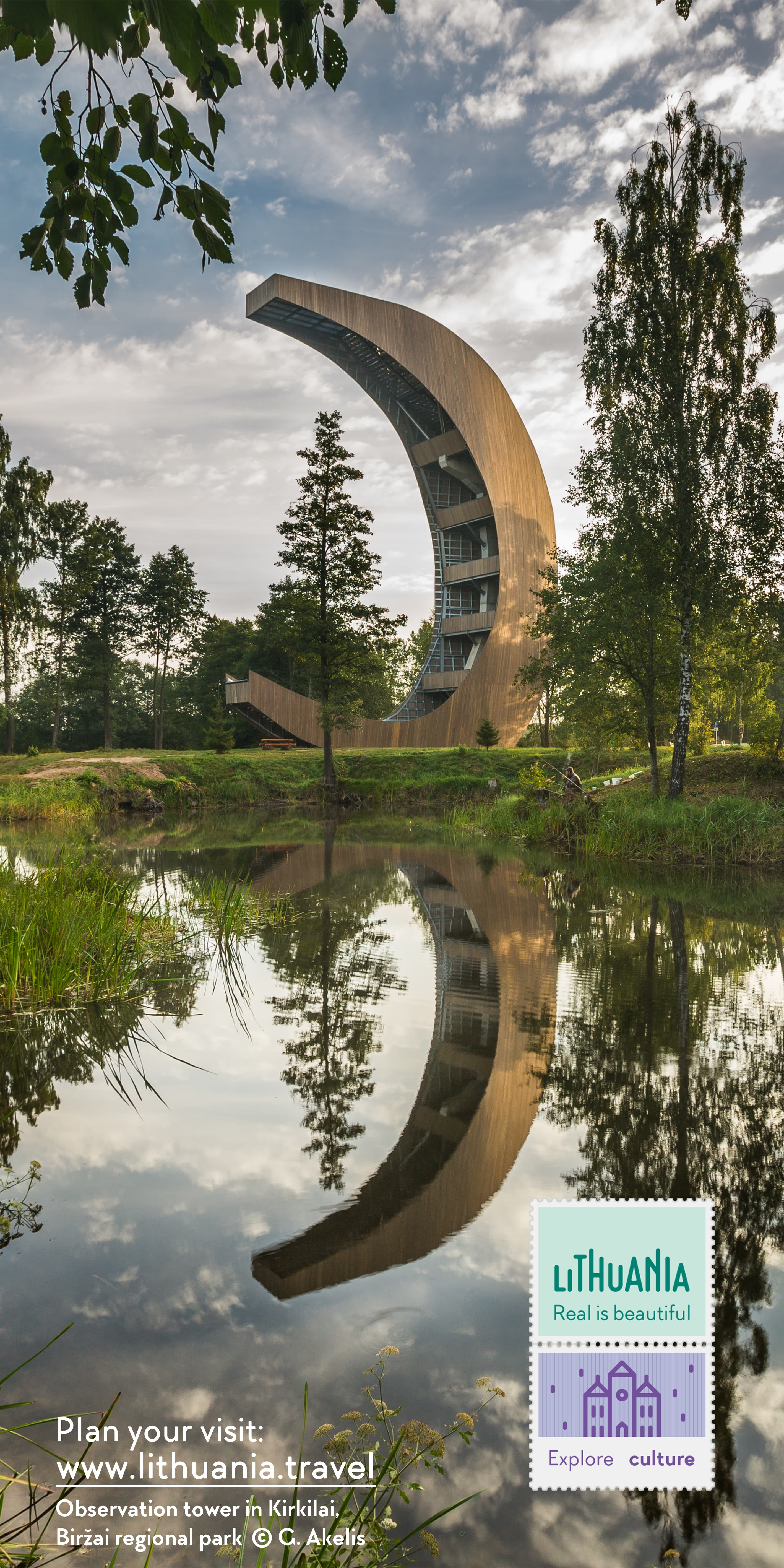Kirkilai Observation tower | Lithuania Travel